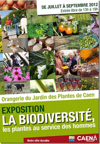 Caen savez vous exposition la biodiversit les plantes au service des hommes au jardin des - Le jardin des plantes caen ...