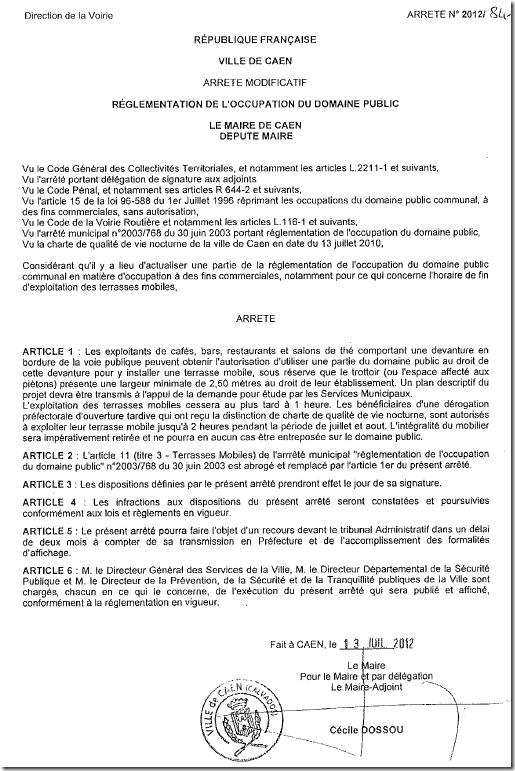 lettre de demande d autorisation de voirie