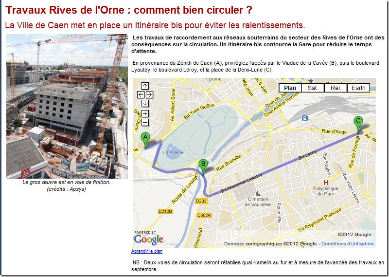 Sur L Orne En 4 Lettres : caen savez vous travaux rives de l orne la ville de ~ Dailycaller-alerts.com Idées de Décoration