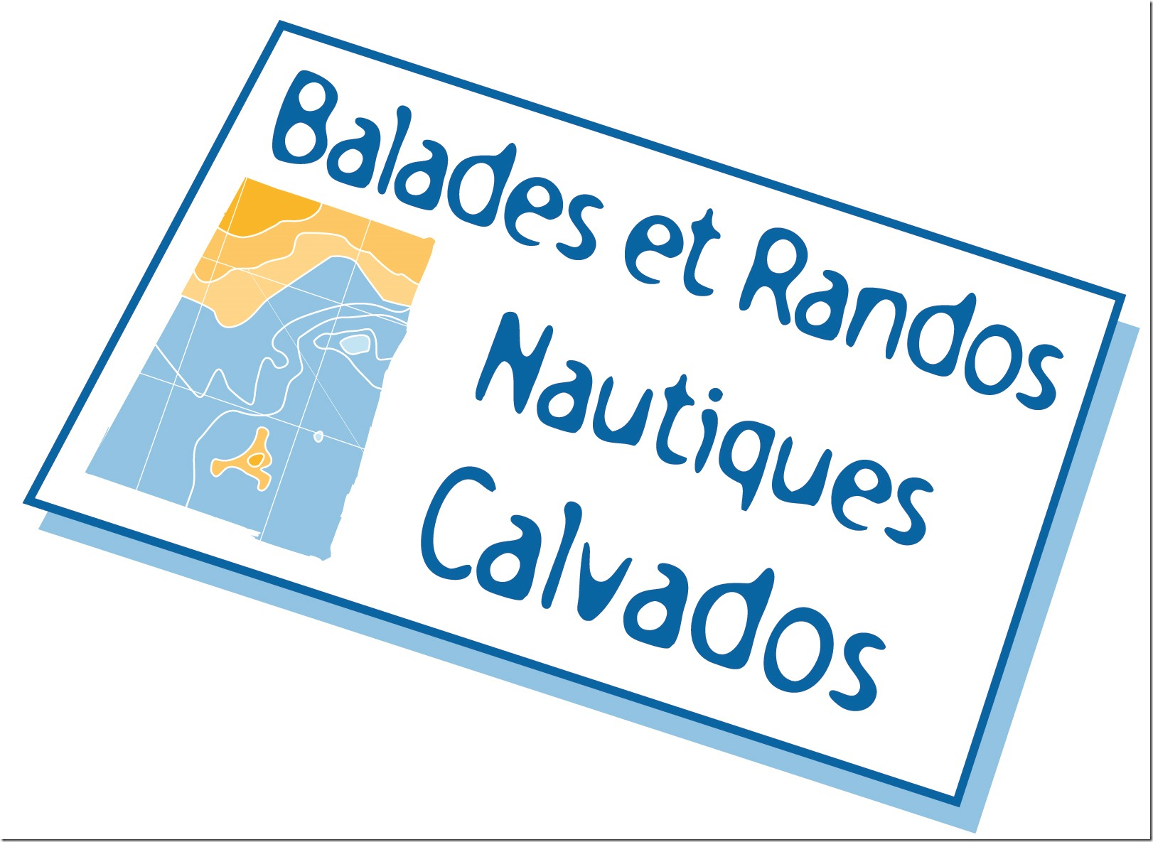 LOGO BALADE ET RANDO CALVADOS