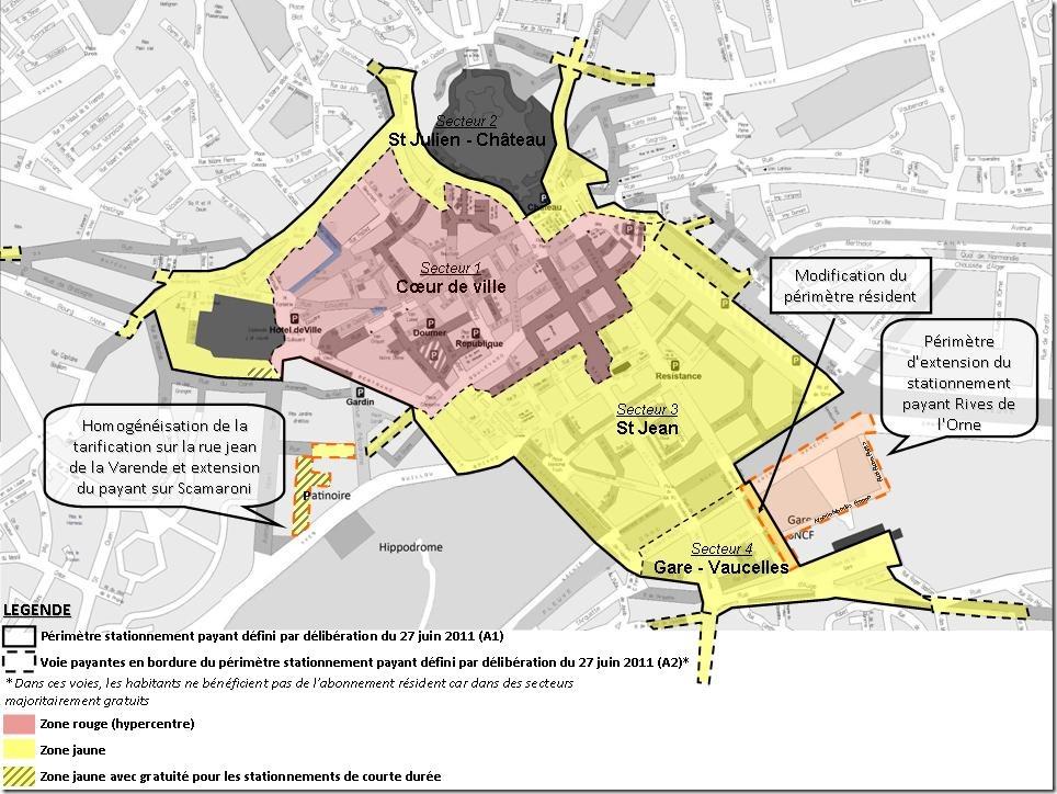 Caen savez vous le plan de stationnement de caen s tend aux rives de l or - Rive de l orne magasin ...