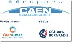 Logo Aéorport Caen Carpiquet2012