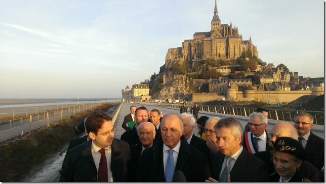 14-10-31 mont saint michel viste ministérielle DR