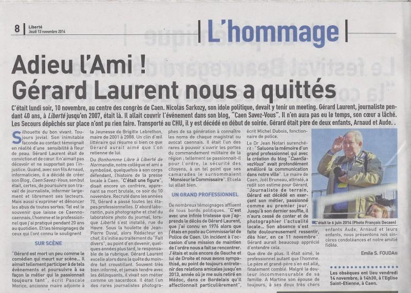 Papa - article Liberté
